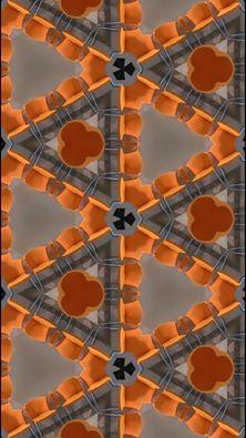 Imagen creada por caleidoscopio