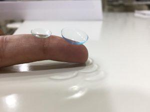 lentilla blanda vs semirigida