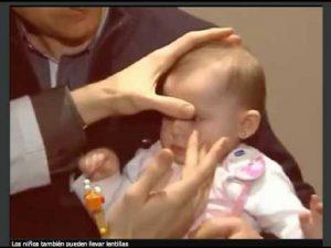 lentilla bebe