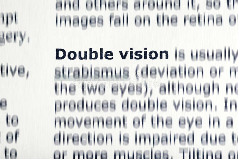 texto visión doble